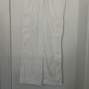 J.crew white pants in size 12